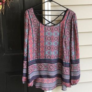 Beautiful top by Society Girl.  Size XL. NWOT